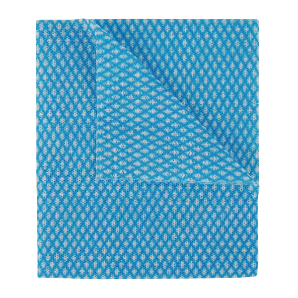2Work Economy Cloth 420x350mm Blue (50 Pack) 104420BLUE