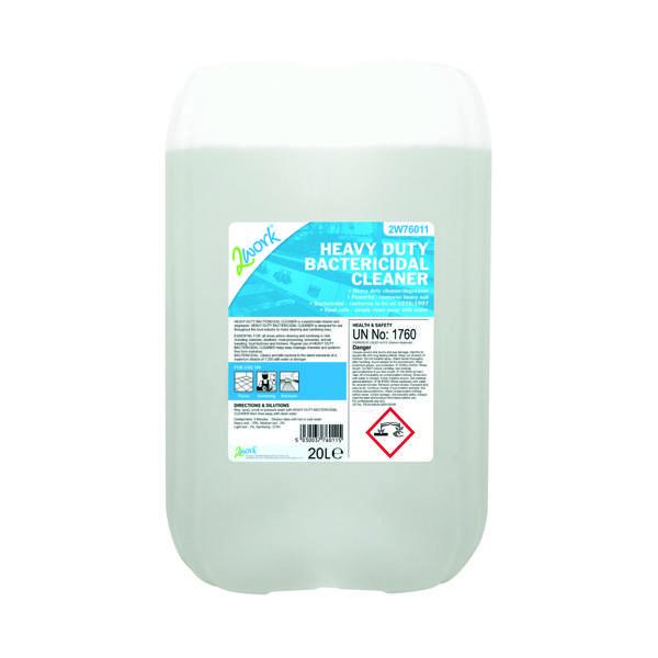 2Work Heavy Duty Bactericidal Cleaner 20 Litre 319