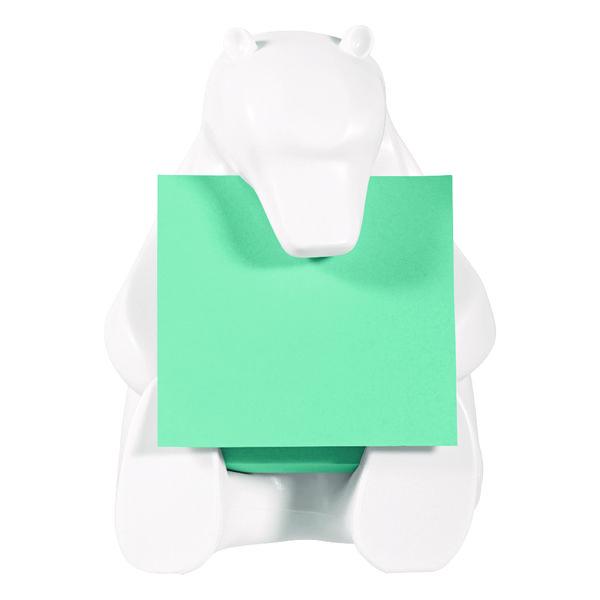 Post-it Z-Note Dispenser Bear Design inc (1 Pack) Post-it Super Sticky Z-Notes 76 x 76mm BEAR-330