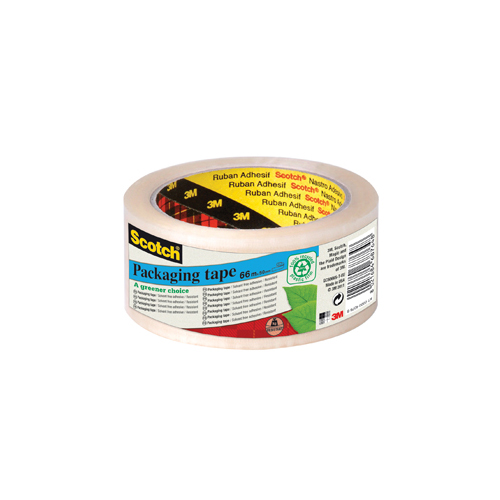 Scotch Clear Recycled Packaging Tape 50mm x 66m (6 Pack) GC5066F6-TSP-EU