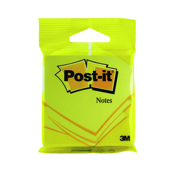 Post-it 76x76mm Yellow Notes (12 Pack) 6820YEL