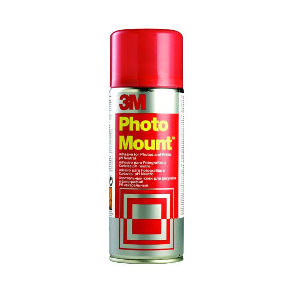 Spray Adhesive 3M PhotoMount Spray High Strength Adhesive 400ml PHMOUNT