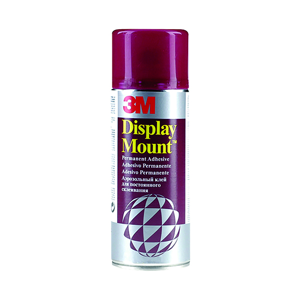 Spray Adhesive 3M DisplayMount Heavy Duty Contact Adhesive 400ml DMOUNT