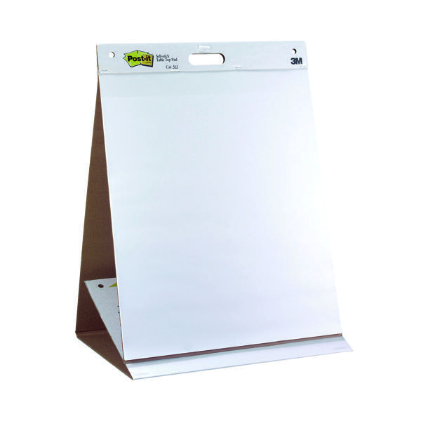 Unspecified Post-it Super Sticky Table Top Easel Pad (6 Pack) 563