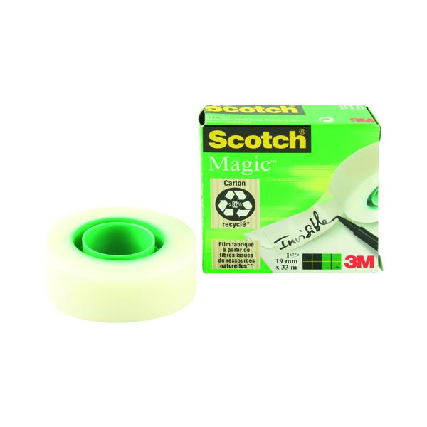 18/19mm Scotch Magic Tape 810 19mm x 33m 8101933