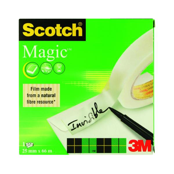 24/25mm Scotch Magic Tape 810 25mm x 66m 8102566