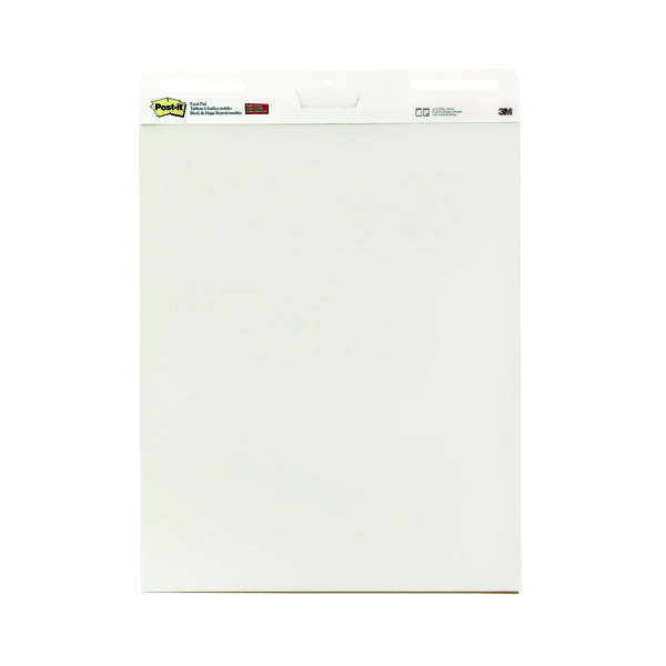 Pads Post-it Super Sticky Meeting Chart 775x635mm (2 Pack) 559