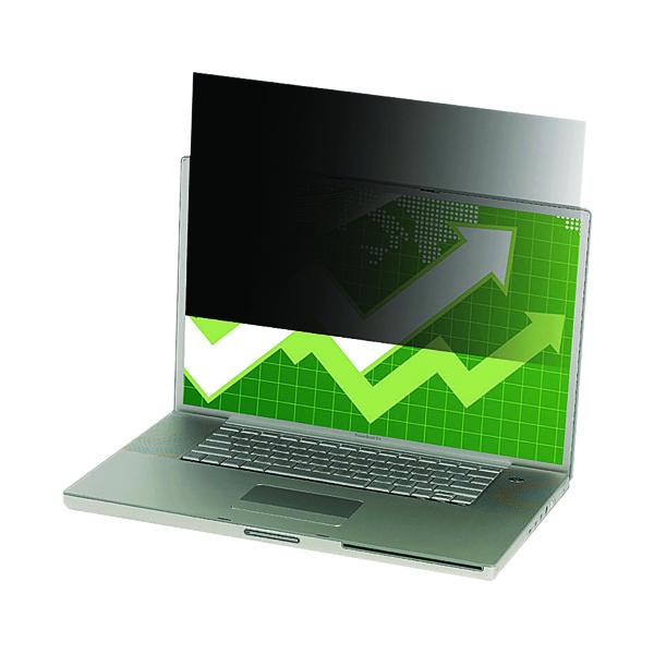 3M 24in Widescreen Black Privacy Filter for Desktops PF24.0W
