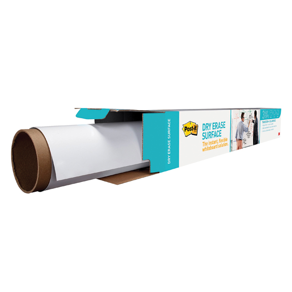 Pads Post-it Super Sticky Dry Erase Film Roll 609x914mm White DEF3X2EU