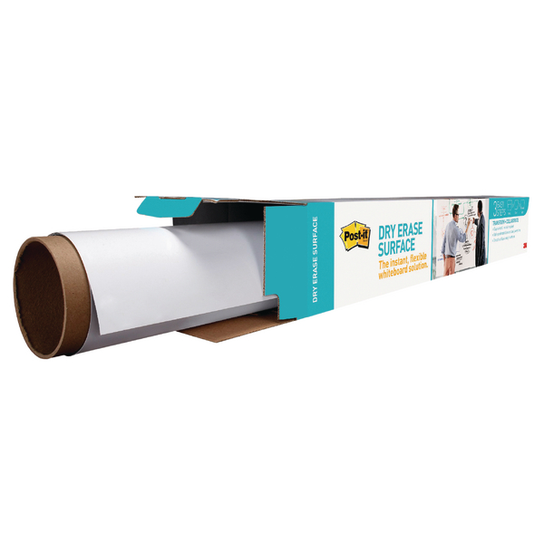 Pads Post-it Super Sticky Dry Erase Film Roll 914x1219mm White DEF4X3-EU