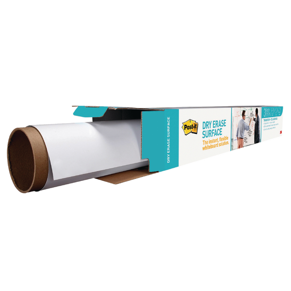 Unspecified Post-it Super Sticky Dry Erase Film Roll 15024x1021mm White DEF50X4-EU