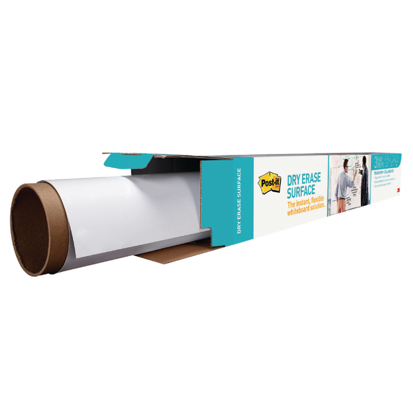 Pads Post-it Super Sticky Dry Erase Film Roll 1219x1829mm White DEF6X4-EU