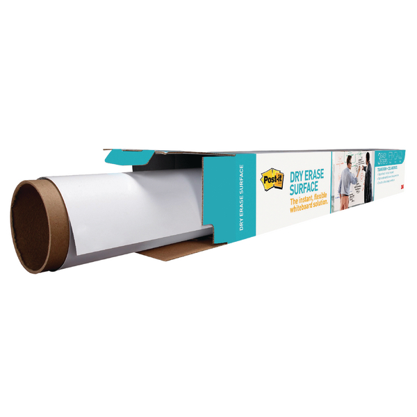 Unspecified Post-it Super Sticky Dry Erase Film Roll 1219x2438mm White DEF8X4-EU