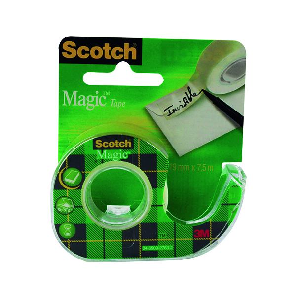 18/19mm Scotch Clear Magic Tape 19mm x 7.5m (12 Pack) 81975D