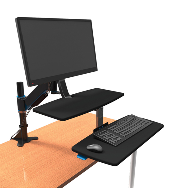 Desktops Kensington Sit/Stand Workstation Height Adjustable K55792WW