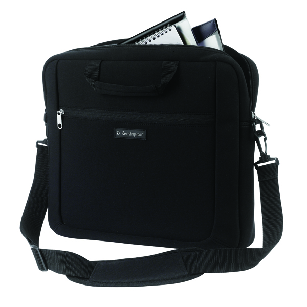 Kensington Simply Portable 15.6 Inch Neoprene Notebook Sleeve Black K62561EU