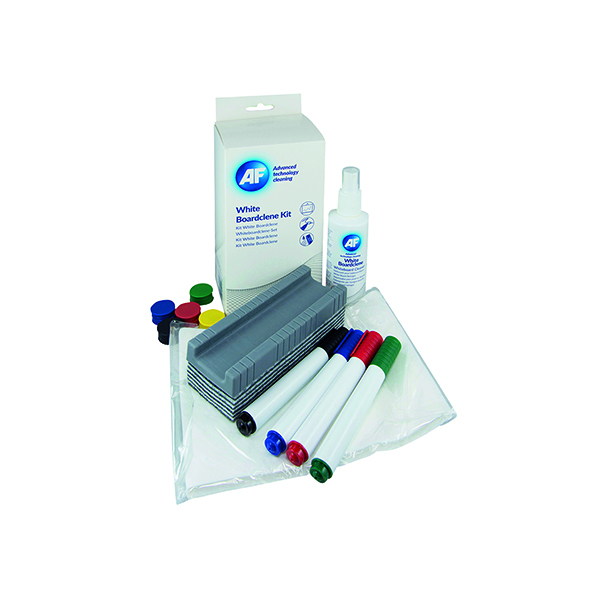 Cleaning/Erasing AF Whiteboard Cleaning Kit AWBlack 000
