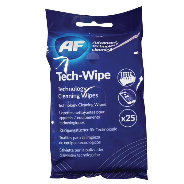 Computer/Peripherals AF Mobile Technology Wipes (25 Pack) AMTW025P