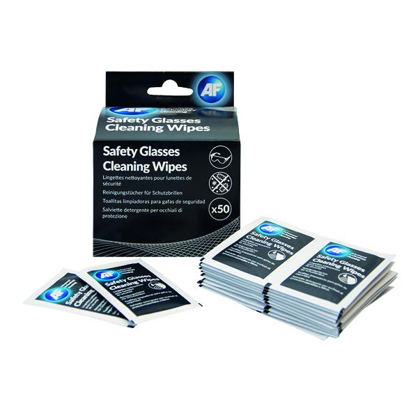 AF Safety Glasses Cleaning Wipes SGCS050
