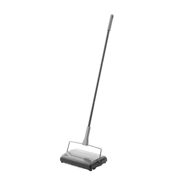 Mops & Buckets Addis Multi Surface Floor Sweeper Metallic 515801