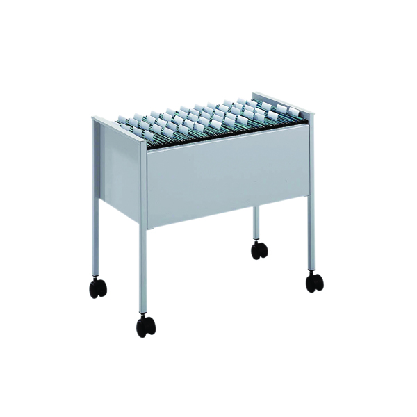 Unspecified Durable Filing Trolley Foolscap Grey 3097-10