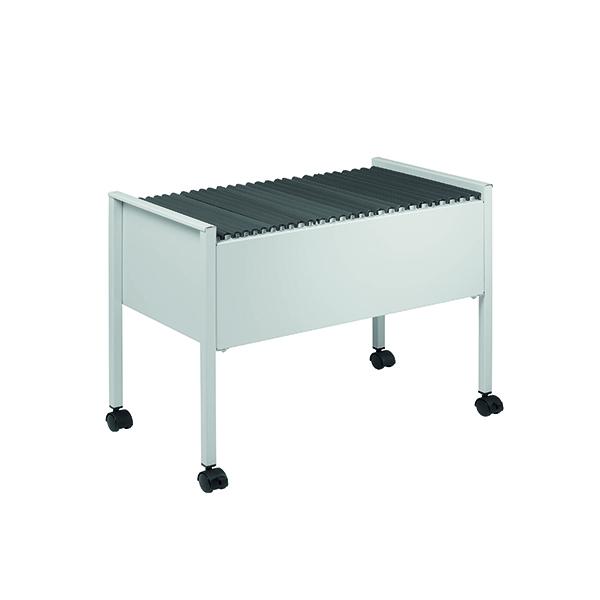 Durable Filing Trolley Foolscap Grey 3097-10