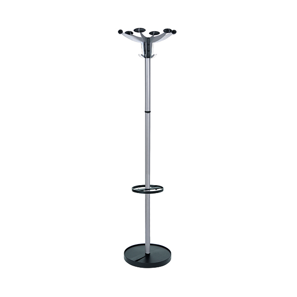 Coat Stands Alba Sevilla Coat Stand Chrome/Black PMSEV
