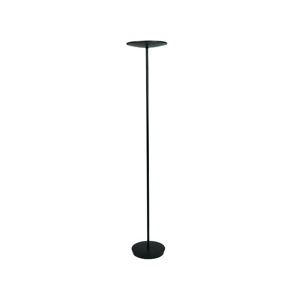 Desk / Table Lights Alba Black LED Uplighter 30w LEDCLASSIC