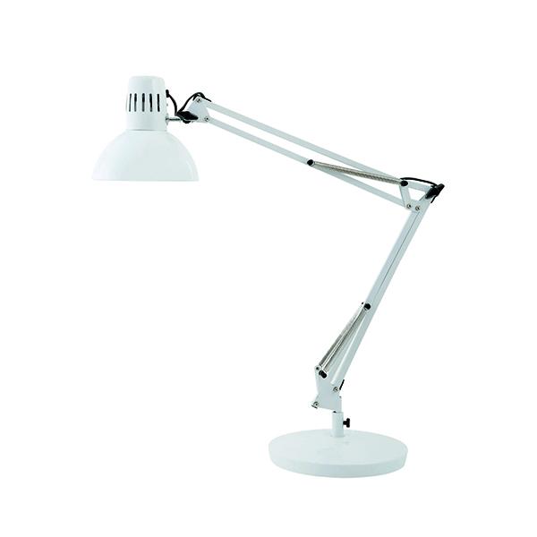 Desk / Table Lights Alba White Architect Desk Lamp ARCHI BC