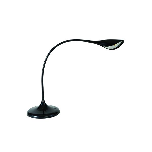 Desk / Table Lights Alba Arum LED Desk Lamp Black LEDARUM N