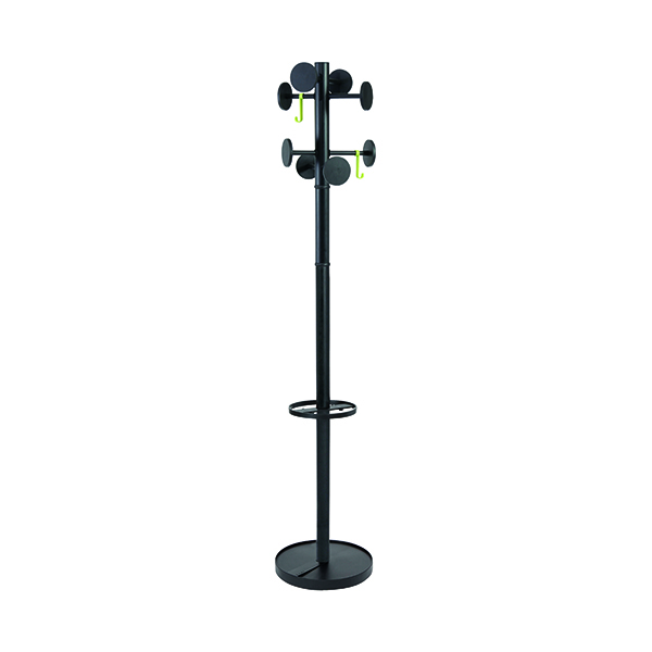 Coat Stands Alba Stan Coat Stand Black PMSTAN3N