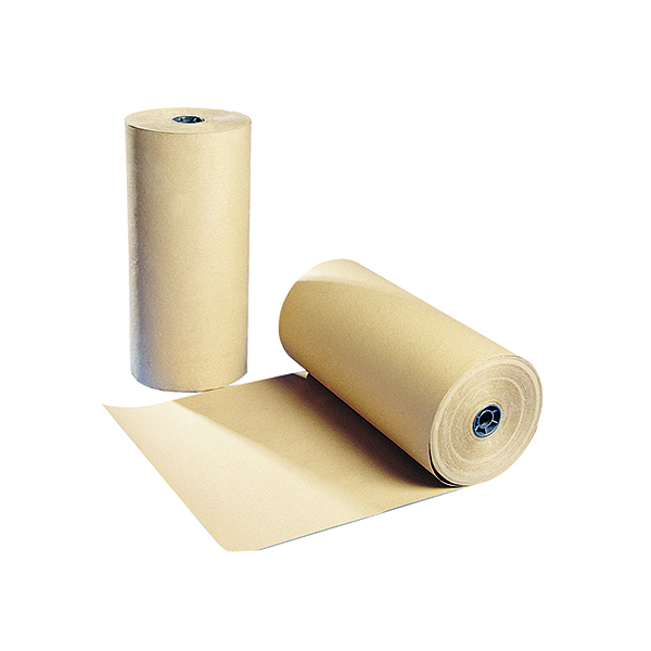 Paper Roll Polythene Coated Kraft Paper Roll 900mmx100m Brown 70080