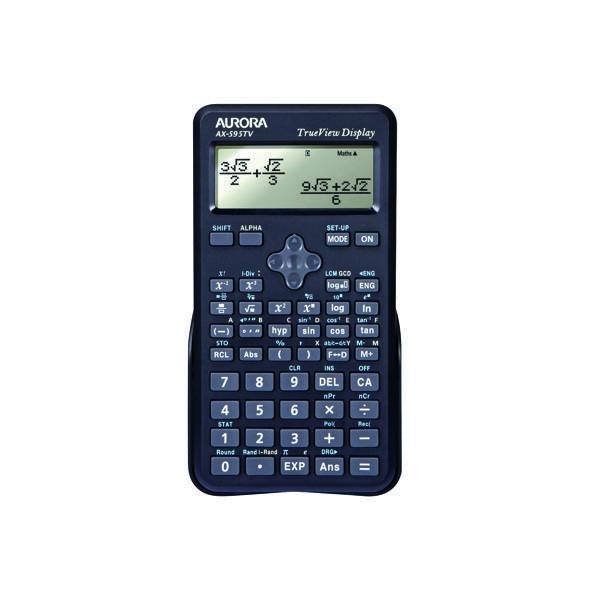 Scientific Calculator Aurora AX-595TV Scientific Calculator Black AX595TV