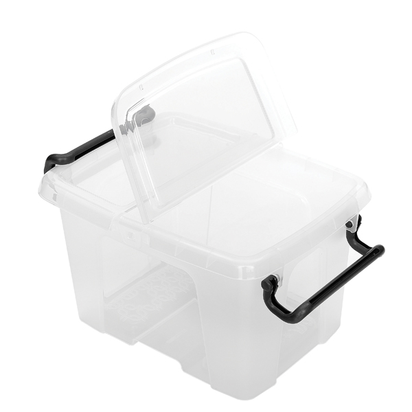 Storage Boxes Strata 6L Smart Box with Lid Clear HW670