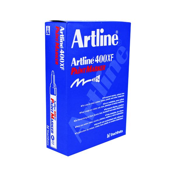 Artline 400 Bullet Tip Paint Marker Medium Yellow (12 Pack) A4006