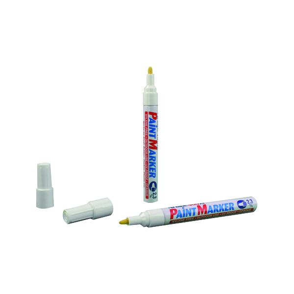 Bullet Tip Artline 400 Bullet Tip Paint Marker Medium White (12 Pack) A400