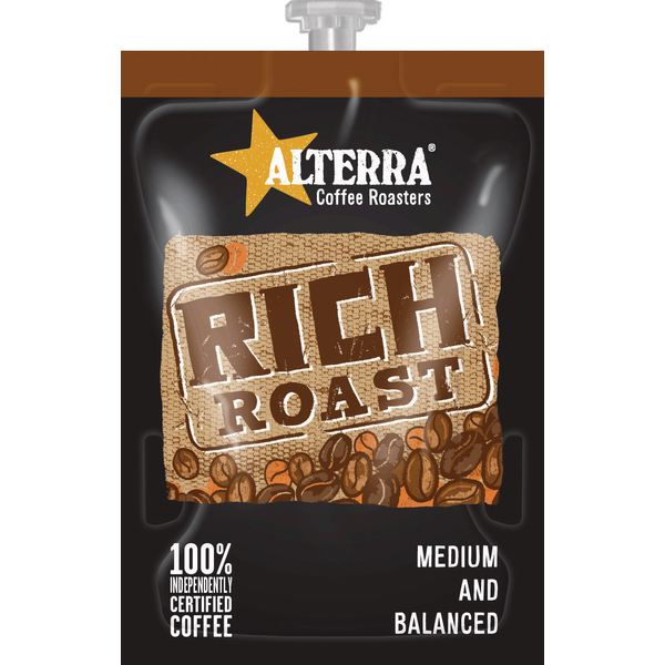 Coffee Flavia Alterra Rich Roast Sachets (100 Pack) NWT358