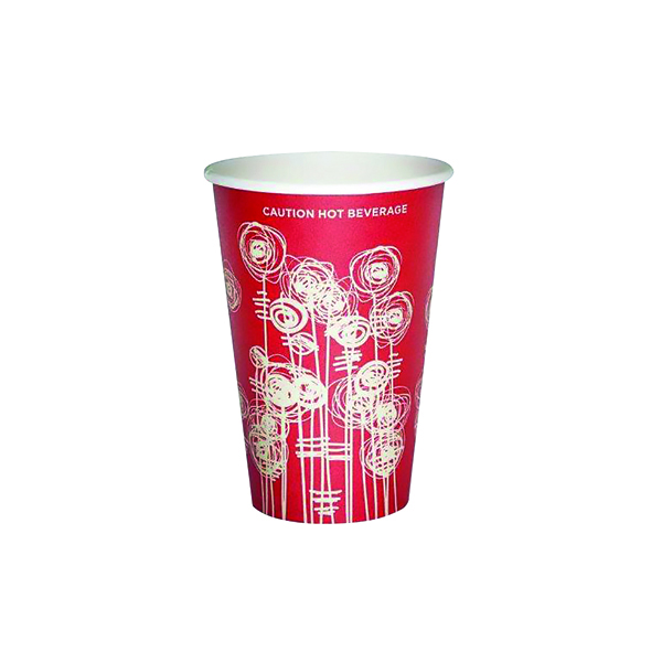 Cups/Mugs/Glasses Paper Vending Cup 9oz 25cl Swirl Design (1000 Pack) HHPAVC09A
