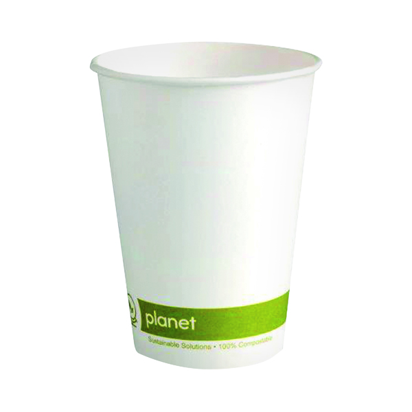 Planet 8oz Single Wall Cups (50 Pack) HHPLASW08