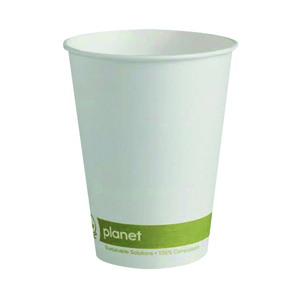Cups/Mugs/Glasses Planet 12oz Single Wall Cups (50 Pack) HHPLASW12