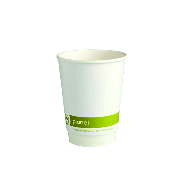 Planet 12oz Double Wall Cups (25 Pack) HHPLADW12