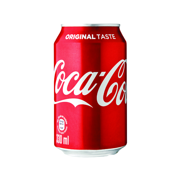 Cold Drinks Coca-Cola Soft Drink 330ml Can (24 Pack) 402002