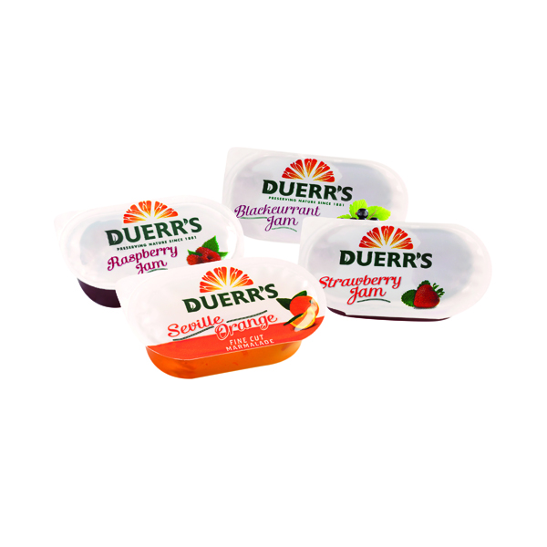 Unspecified Duerrs Assorted Jam and Marmalade (96 Pack) 70101257