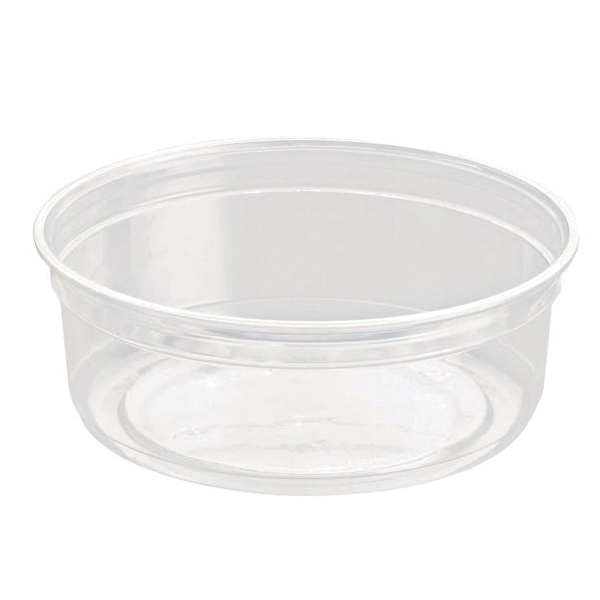 Caterpack Biodegradable rPET DeliGourmet Food Container 8oz (50 Pack) RY10579 / DM8R