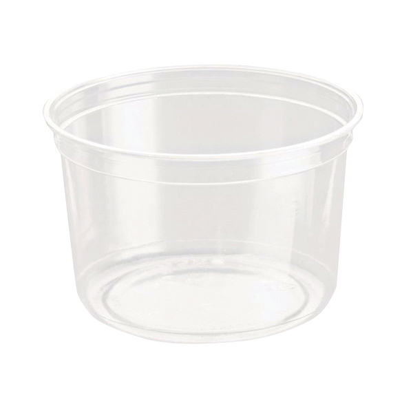 Caterpack Biodegradable rPET DeliGourmet Food Container 16oz (50 Pack) RY10581 / DM16R
