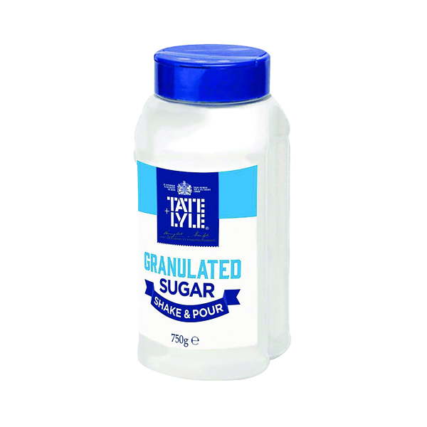 Sugar / Sweetener Tate & Lyle White Shake & Pour Sugar Dispenser 750g A03907