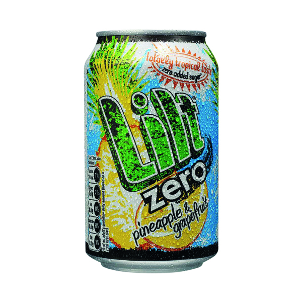 Cold Drinks Lilt Zero Soft Drink 330ml (24 Pack) FOLIL002
