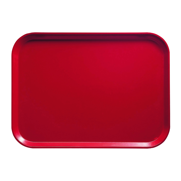Washing Up Bowls / Brushes / Drainers Cafeteria Tray 46x36cm Red F30184