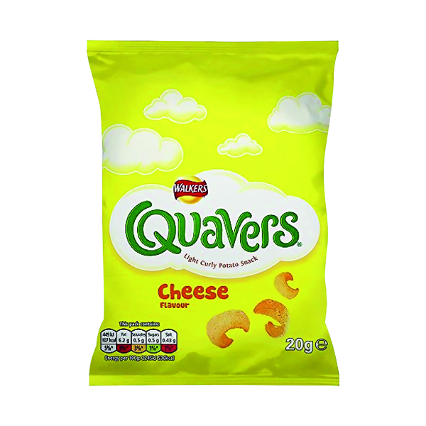 Unspecified Walkers Quavers 20g (32 pack) 122007