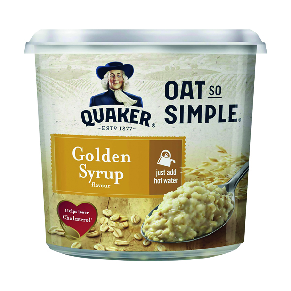 Breakfast/Snacks Oat So Simple Golden Syrup Pot 57g (8 pack) 121256